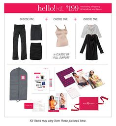 Ruby Ribbon Hello Kit. You can become an Independent Stylist with Ruby Ribbon!