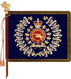 The Algonquin Regiment(Regimental Colour) Canadian Army, British Army, Military Art, Military History, Badges, Afghanistan War, Defence Force, Flag Design, British History