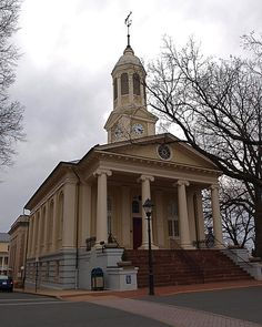 Fauquier County Courthouse, Warrenton, VA by lreed76, via Flickr