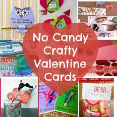 No Candy Crafty Valentine Ideas for Kids