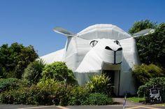 Big Sheep Wool Building, Tirau, New Zealand