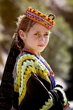 Pakistan | The Kalasha (Kalasha: Kaĺaśa, Nuristani: Kasivo) or Kalash, are people residing in the Chitral District of Khyber-Pakhtunkhwa province of Pakistan. They speak the Kalasha language, from the Dardic family of the Indo-Iranian languages, and are considered a unique tribe among the Iranic peoples of Pakistan. | Kalash Valley, Chitral, Khyber-Pakhtunkhwa | Image and caption ©Yousaf Fayyaz