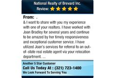I want to share with you my experience with one of your realtors. I have worked...