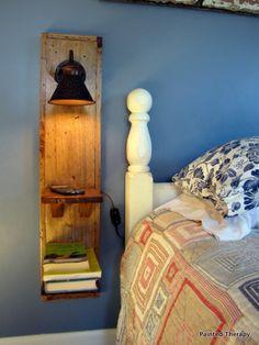 diy interieur 100 Functional DIY Nightstand Builds to Instantly Impress your Guests Diy Nightstand, Floating Nightstand, Nightstands, Floating Bed, Bedside, Diy Furniture Table, Bedroom Furniture, Home Bedroom, Bedroom Decor