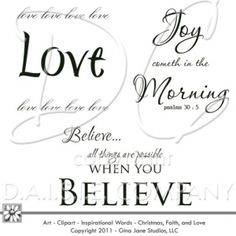 Love One Another Digital Stamps Bible Verses Joy Cometh In The Morning