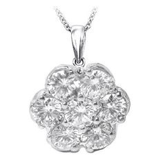 Diamond Flower Necklaces and Pendants from MDC Diamonds NYC -Photosheaf.com is a place to share your favorite photos with friends and public - Photosheaf.com