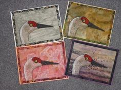 Previous Posts - On the Trail Creations Fabric Postcards, Fabric Cards, Small Quilts, Mini Quilts, Prayer Flags, Thread Painting, Mug Rugs, Cloth Bags, I Card
