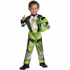 Lil' Motocross Child Halloween Costume, Boy's, Size: Small, Multicolor