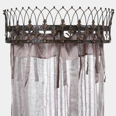 Metal Canopy Bed Crown