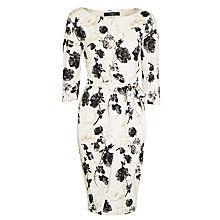 Buy Weekend by MaxMara Superbo Floral Jersey Dress, Sand Online at johnlewis.com