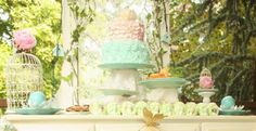 Dragons Fairies Mythical Woodland Baby Shower Party Planning Ideas