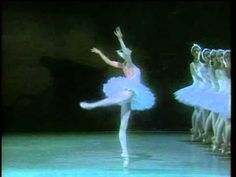 "Natalia Makarova showing off her exquisite control and dramatic sweep in Odette's variation, from a 1980 performance of ""Swan Lake"""