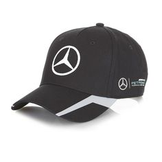 OFFICIAL 2016 Mercedes AMG Petronas F1 Replica Team Cap BLACK - NEW in  Clothes b579935303d