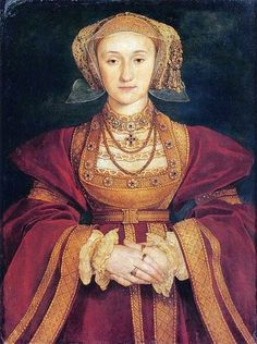 """Anne of Cleves, Henry VIII's 4th wife whom he divorced on the grounds that he """"liketh her not"""", & therefore could not consummate the marriage. Henry had some nerve taking issue with Anna von Kleves, considering his own grotesque appearance at the time of this marriage. I have a framed replica portrait of Anne of Cleves hanging in my house, to remind me that smart girls finish first (Anne willingly divorced the king, and went on to live in honor in England, with an expensive home and…"""