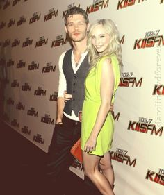 Joseph Morgan & Candace Accola