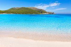 Baléares : les plus belles plages de Majorque | Lonely Planet Lonely Planet, Station Balnéaire, Fine Sand, Tropical, Majorca, The Good Place, Beautiful Places, Places To Visit, Camping