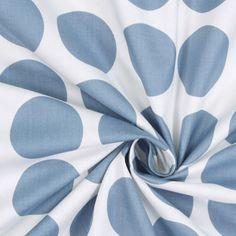 Fenton Dots 1 - Bomuld - blågrå