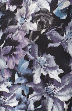 ASTR Floral Print Cutout Tank | Nordstrom