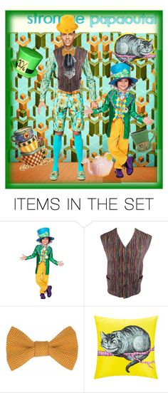 """Stromae is the Mad Hatter"" by alexxandrat ❤ liked on Polyvore featuring art"