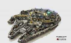 Check out the Incredible Detail in this 10,000-brick Lego Millennium Falcon | EpicTimes