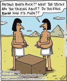 Rock,papyrus, scissors...