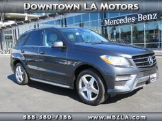 Certified Used 2014 Mercedes-Benz M-Class RWD  ML350 SUV in Los Angeles