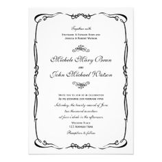 Beautiful Classic Frame Wedding Invitation design in cream color, fully customizable and set as a template for your easy customization. This elegant and vintage stye wedding invite looks very romantic, perfect for your special day. Engagement Party Invitations, Beautiful Wedding Invitations, Wedding Invitation Design, Couples Shower Invitations, Custom Invitations, Invites, Invitation Wording, Trendy Wedding, Elegant Wedding
