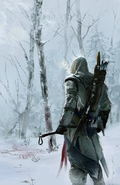 my friend Conrad Javiers art he made for an assasins creed contest