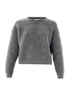 Stella+McCartney+Textured+Wool-Mohair+Sweater #refinery29