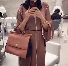 Hijab Fashion 2016/2017: hijab fashion and abaya image