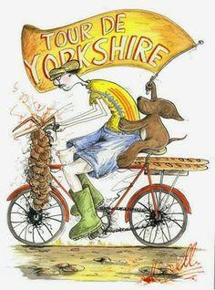 Tour de Yorkshire Card