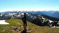 Hike to #HurricaneRidge in the gorgeous #OlympicNationalPark , #Washington