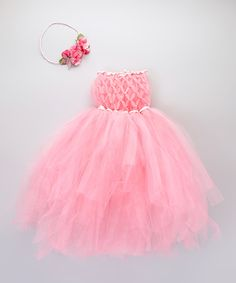 fcf5102fd Love this Pink Tutu Dress  amp  Halo - Infant