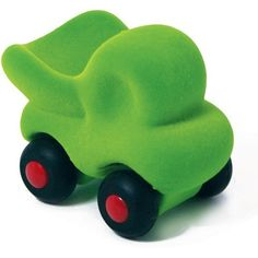 Rubbabu Microvehicles Orange Dump Truck 3 inches by Rubbabu. $5.95. Strong educational value for infants and toddlers (ages 0-6) develop sensory, motor, congnitive skills. These hand made natural rubber foam toys are made without cutting down trees. Using safe materials of the best quality, certified by EN 71 Parts 1, 2 and 3, ASTM 963F 16 CFR.... Rubbabu's hand made natural foam toys in simple shapes and bright colors are loved by kids and parents alike.  Soft and safe for e...