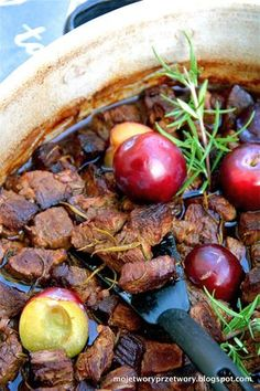Beef Recipes, Plum, Favorite Recipes, Meat, Vegetables, Fruit, Food, Kitchen, Meat Recipes