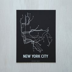 Impresión de la ciudad de Nueva York Sm pantalla  por LinePosters