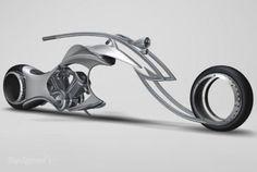 swordfish concept chopper 8211 a window toward hubless wheeled bikes of the future - DOC286788