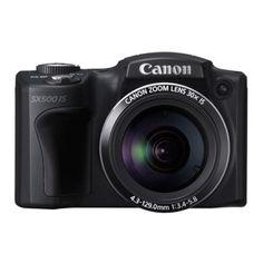 Canon PowerShot SX500 IS Digital Camera $180 + card