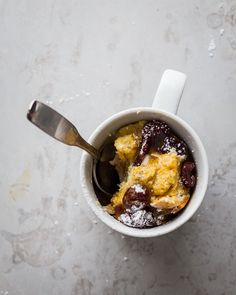 French Toast in a Mug | JellyToastBlog.com. This can be a snack as well as breakfast