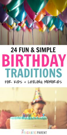 24 Unforgettable Birthday Traditions to Start With Your Kids at Any Age First Birthday Traditions, First Birthday Party Themes, Birthday Activities, Birthday Celebration, Simple Birthday Surprise, Special Birthday, Surprise Ideas, One Year Birthday, Birthday Fun
