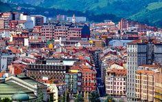 Blick auf Bilbao, größte Stadt des Baskenlandes, Spanien