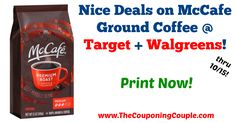 Awesome savings for coffee! Be sure to print your coupon now before it is gone! Nice Deals on McCafe Ground Coffee @ Target + Walgreens!  Click the link below to get all of the details ► http://www.thecouponingcouple.com/nice-deals-on-mccafe-ground-coffee-target-walgreens/ #Coupons #Couponing #CouponCommunity  Visit us at http://www.thecouponingcouple.com for more great posts!