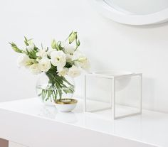 Kubus bowl in white. Photo by @refinendesigns