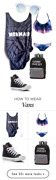 """Untitled #145"" by necronomicon on Polyvore featuring Converse and Vans"