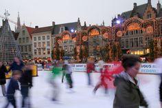 Bruges winter festival.