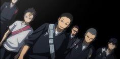 That's rough, buddy. Tanaka Haikyuu, Haikyuu Anime, Haikyuu Karasuno, Hinata, Watch Haikyuu, Daichi Sawamura, Scary Faces, Haikyuu Wallpaper, Haikyuu Characters