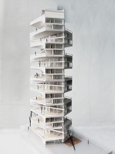 LYCS architecture - writhing tower - lima, peru - 2012