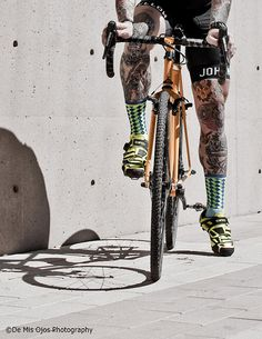 "probike: "" Bike Racers and Tattoos, 6 "" Urban Cycling, Cycling Art, Cycling Bikes, Bmx, Bike Photography, Cycling Motivation, Bicycle Maintenance, Touring Bike, Bike Style"