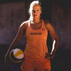 Marleen, jogadora de Vôlei de Praia da Holanda - Foto: Reprodução