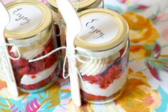 . Via: mycakies.blogspot.com Start saving your old jam jars! From cakes to herb gardens, pies to photo frames, and even entire meals ... here are…